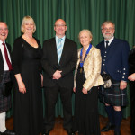 Council and Branch chairmen with dancers from The Netherlands